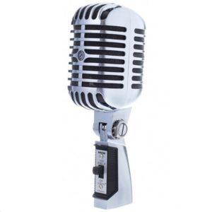"""Microphone de chant dynamique shure 55-SH Modèle """"Elvis Modell"""""""