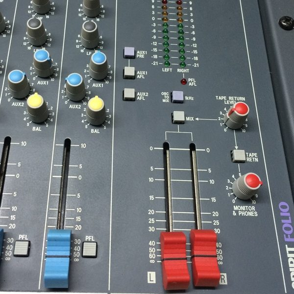 Console Mixage SOUNDCRAFT-SPIRIT-FOLIO-12-2