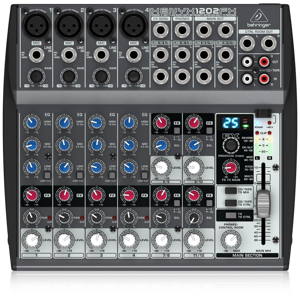 table de mixage behringer xenyx 1202fx