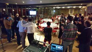 Karaoke au fief avec Entreprise